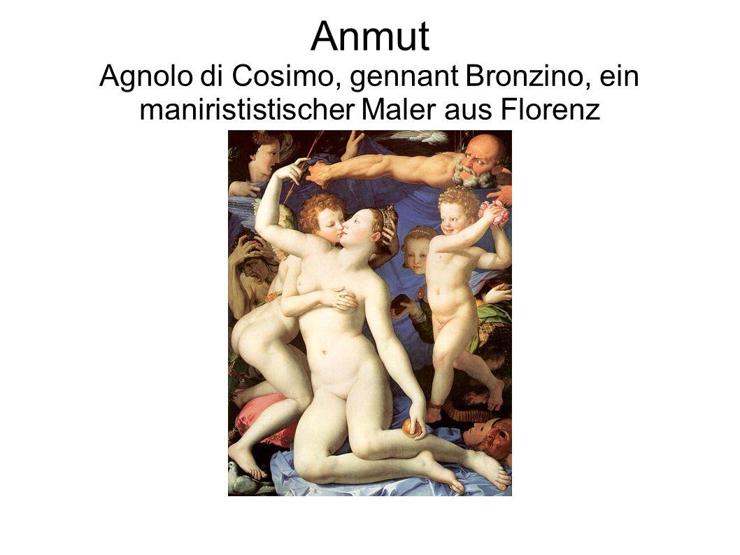 Anmut Agnolo di Cosimo, gennant Bronzino, ein manirististischer Maler aus Florenz