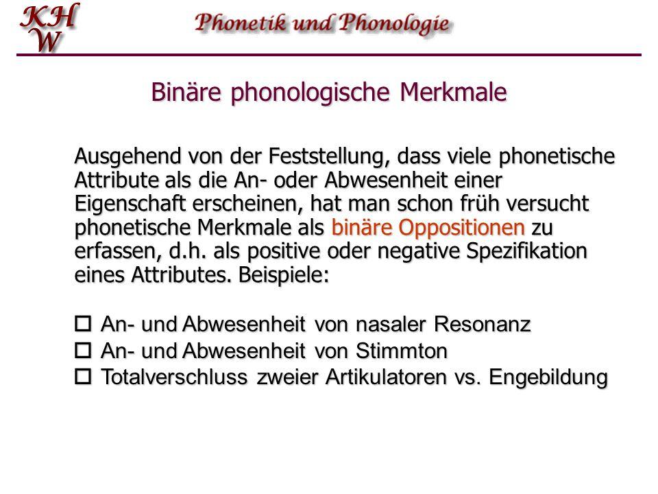 Binäre phonologische Merkmale