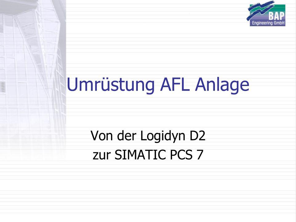 Von der Logidyn D2 zur SIMATIC PCS 7