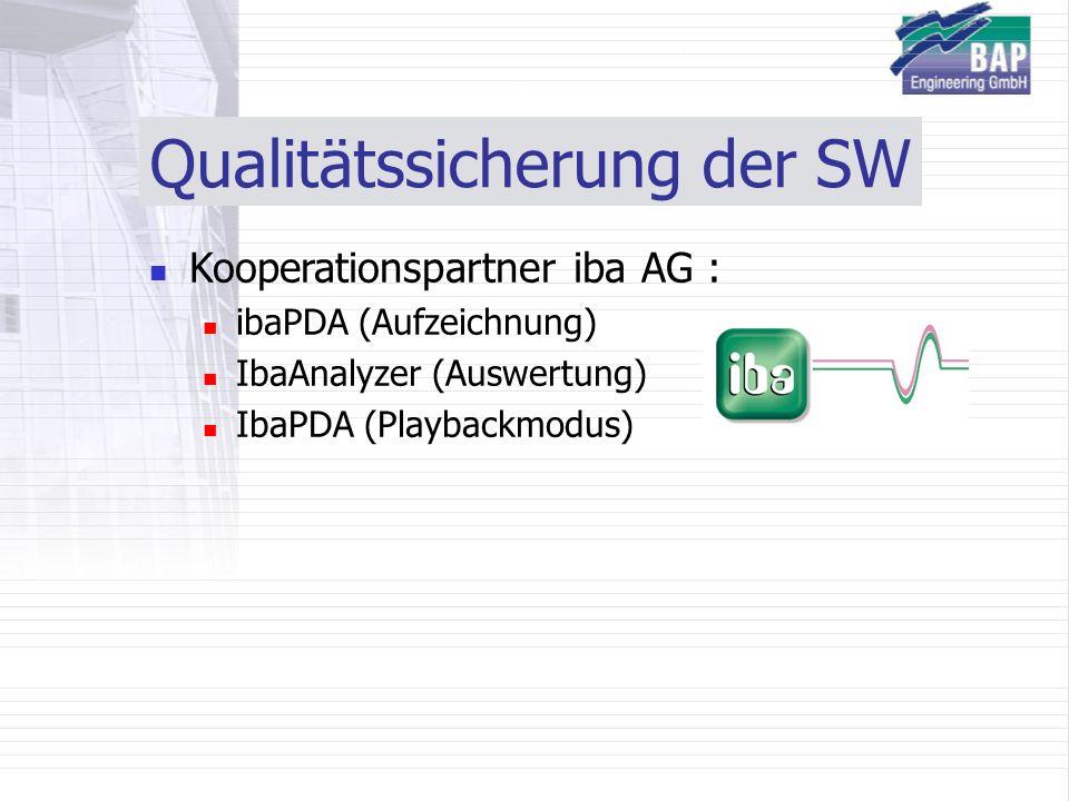 Qualitätssicherung der SW