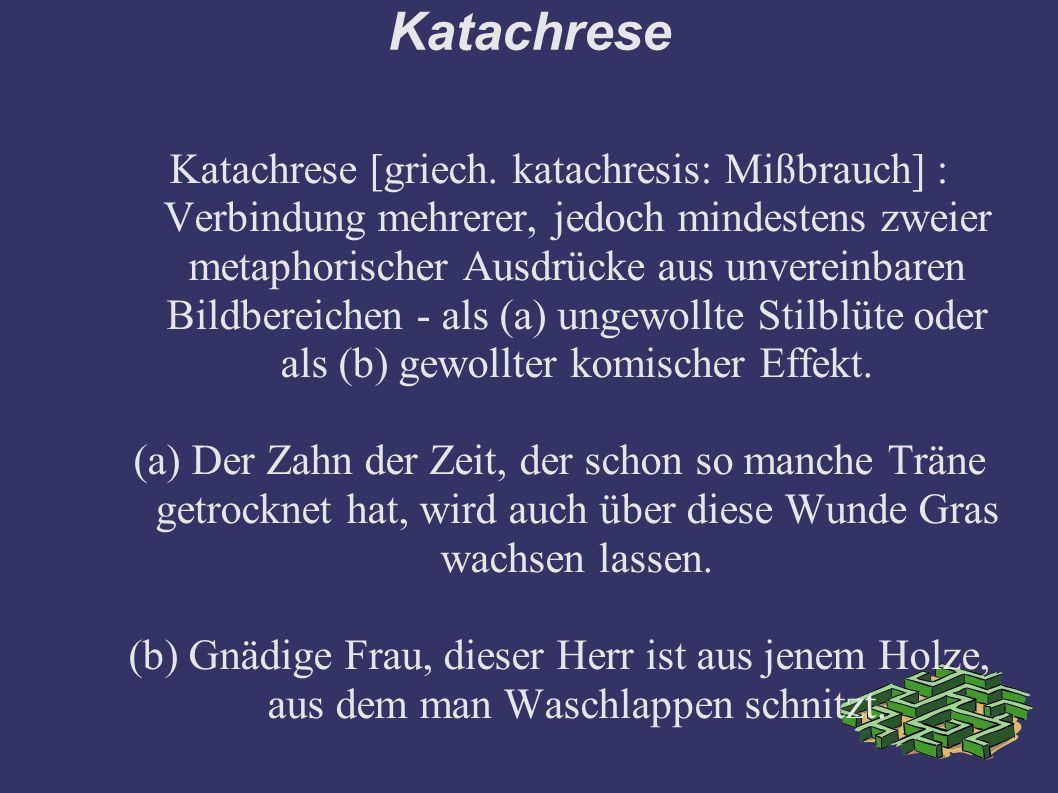 Katachrese