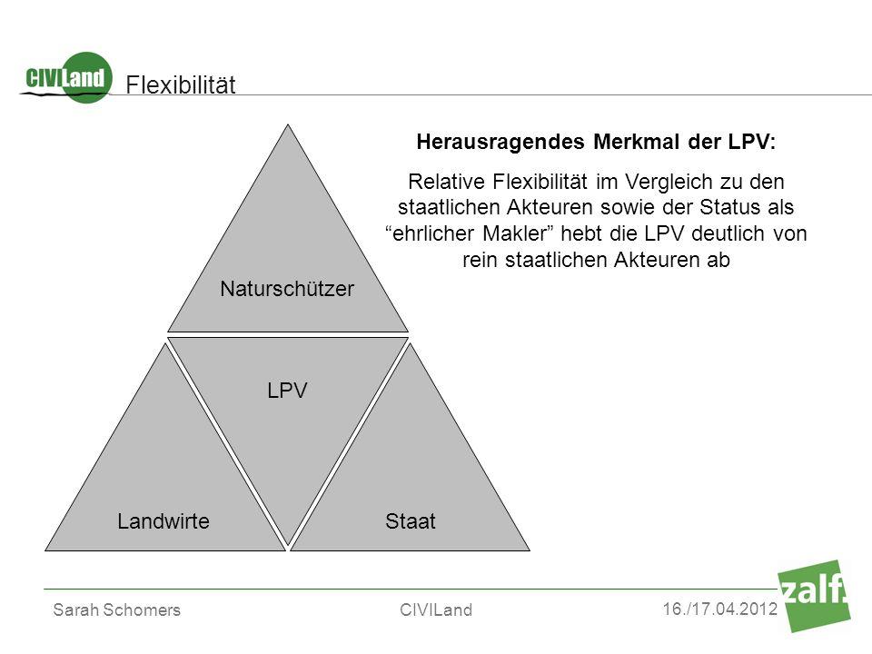 Herausragendes Merkmal der LPV: