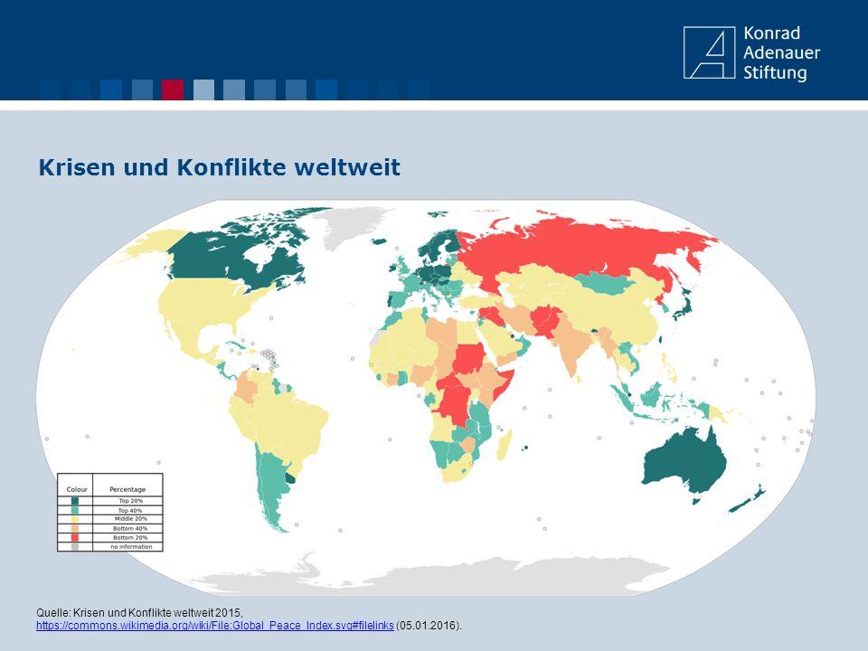 Krisen und Konflikte weltweit