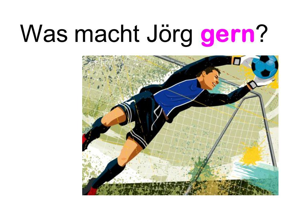 Was macht Jörg gern