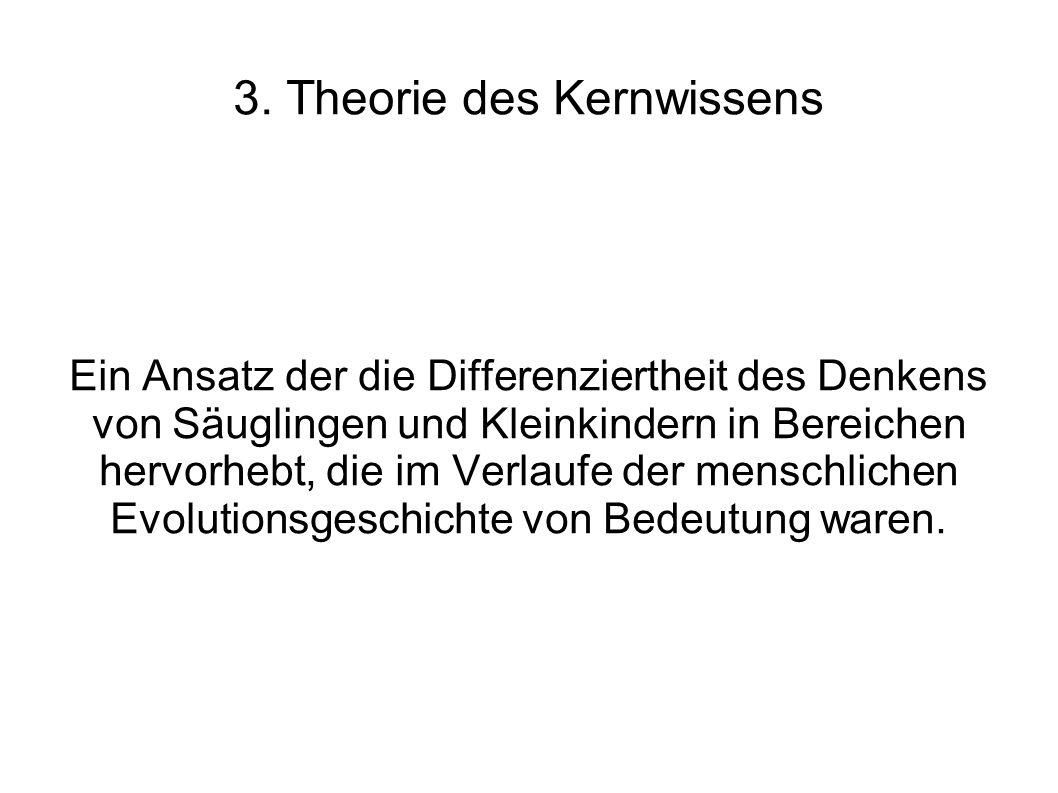 3. Theorie des Kernwissens