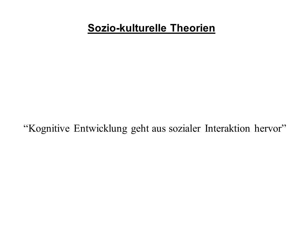 Sozio-kulturelle Theorien