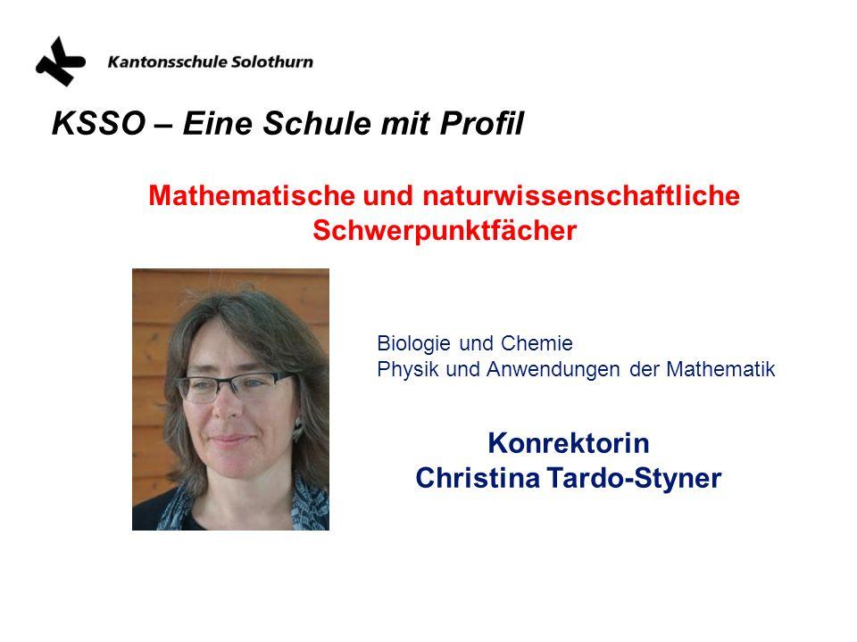 Mathematische und naturwissenschaftliche Schwerpunktfächer