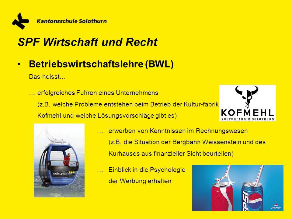 Betriebswirtschaftslehre (BWL)