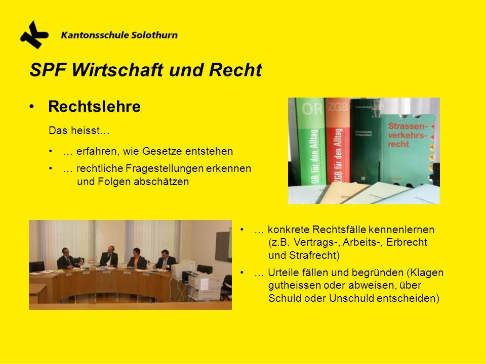 SPF Wirtschaft und Recht