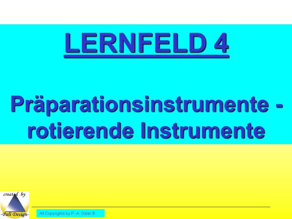 Präparationsinstrumente -rotierende Instrumente