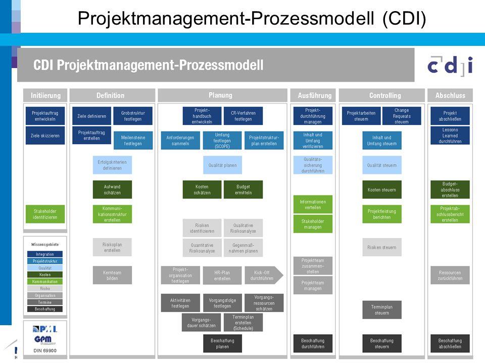 Projektmanagement-Prozessmodell (CDI)