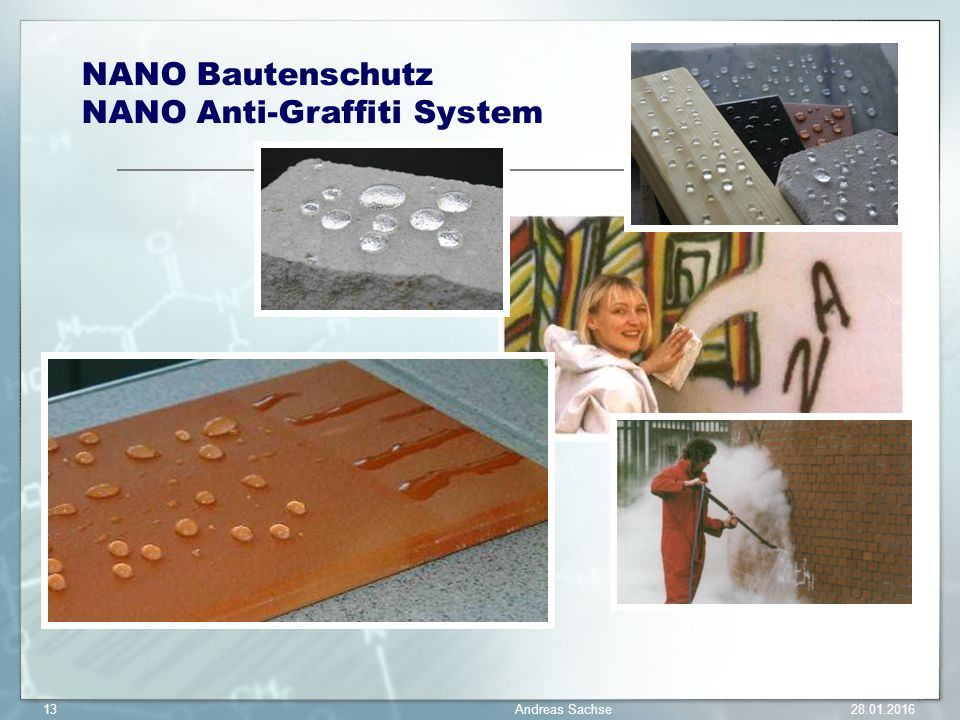 NANO Anti-Graffiti System