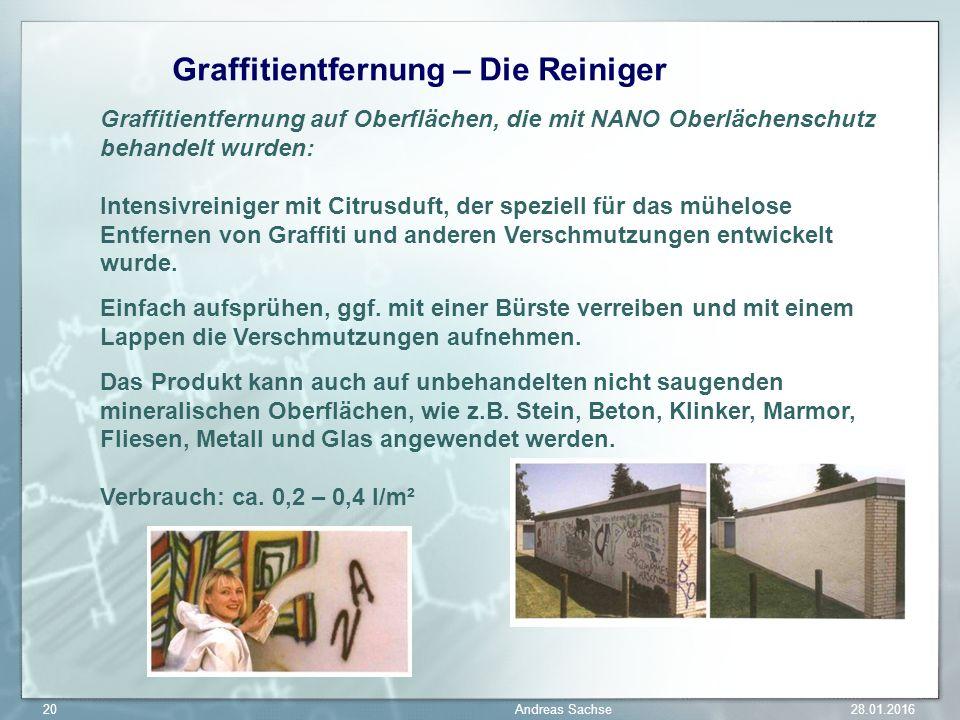 Graffitientfernung – Die Reiniger