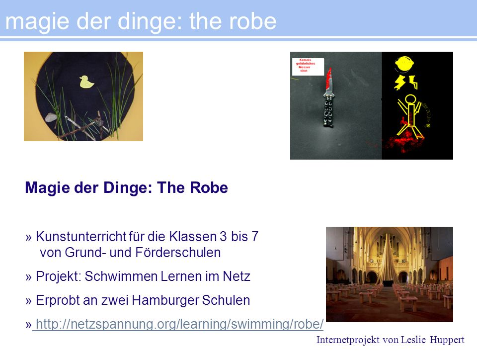 magie der dinge: the robe