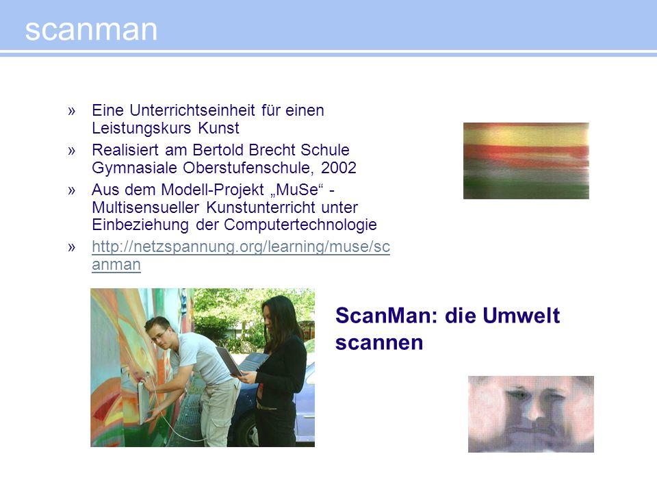 scanman ScanMan: die Umwelt scannen