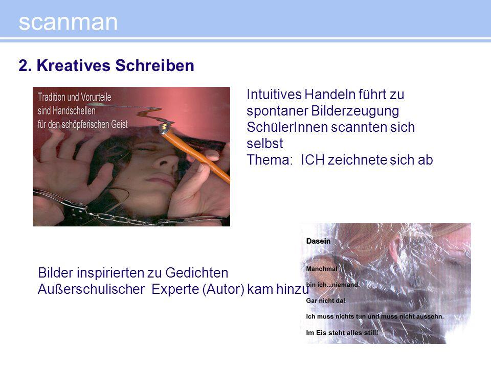 scanman 2. Kreatives Schreiben