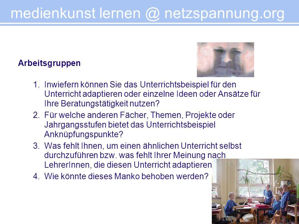 medienkunst lernen @ netzspannung.org