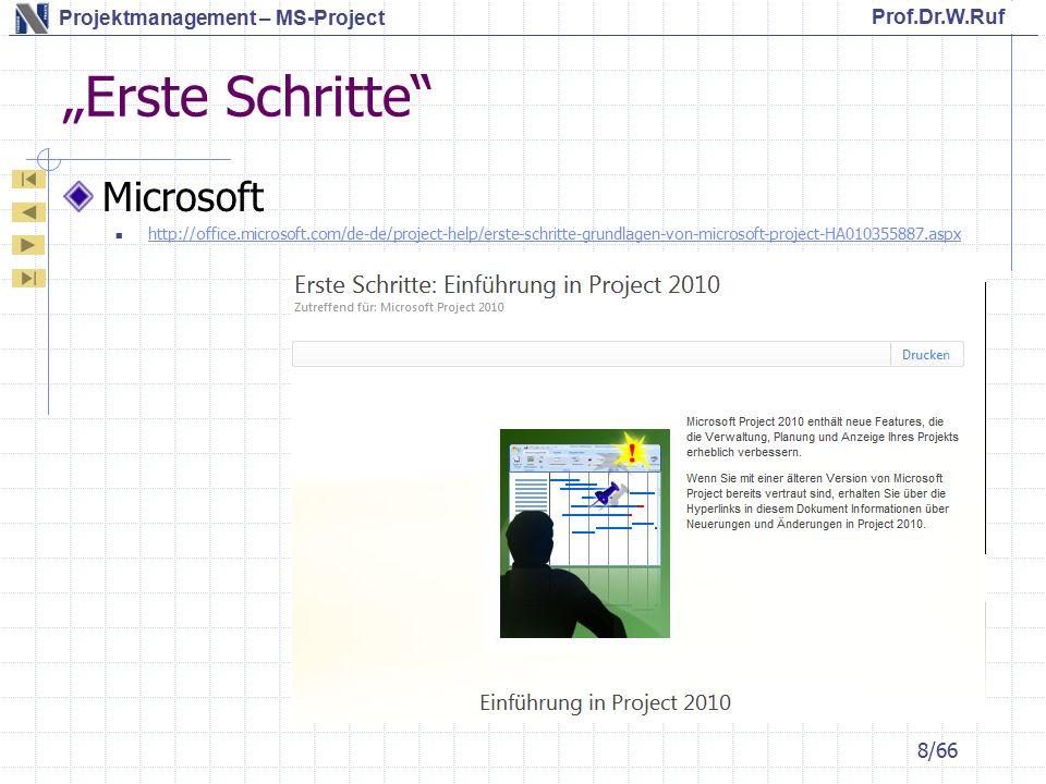 """""""Erste Schritte Microsoft"""