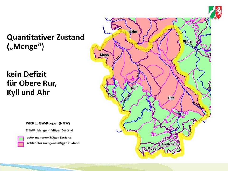 Quantitativer Zustand NRW