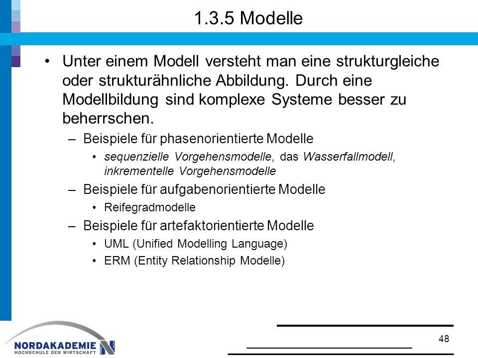 1.3.5 Modelle