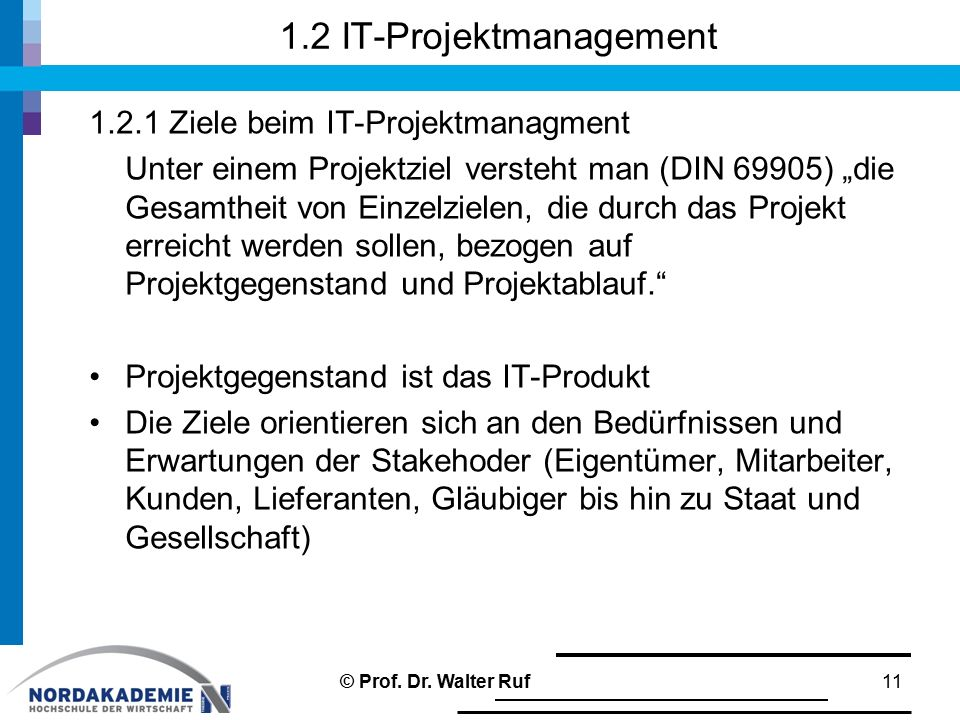 1.2 IT-Projektmanagement