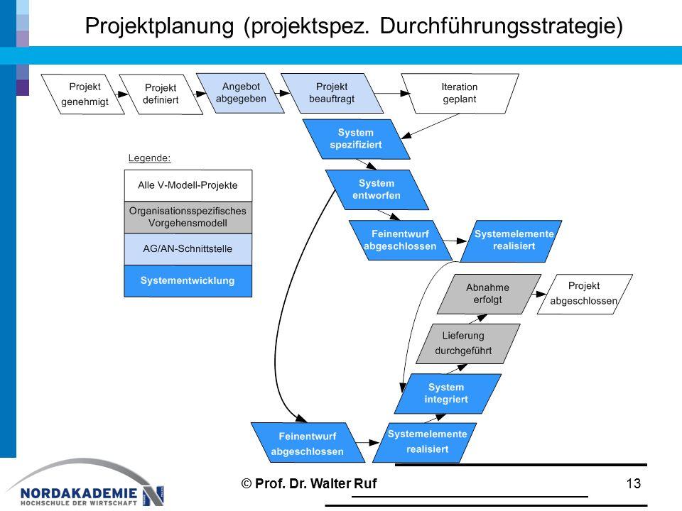 Projektplanung (projektspez. Durchführungsstrategie)