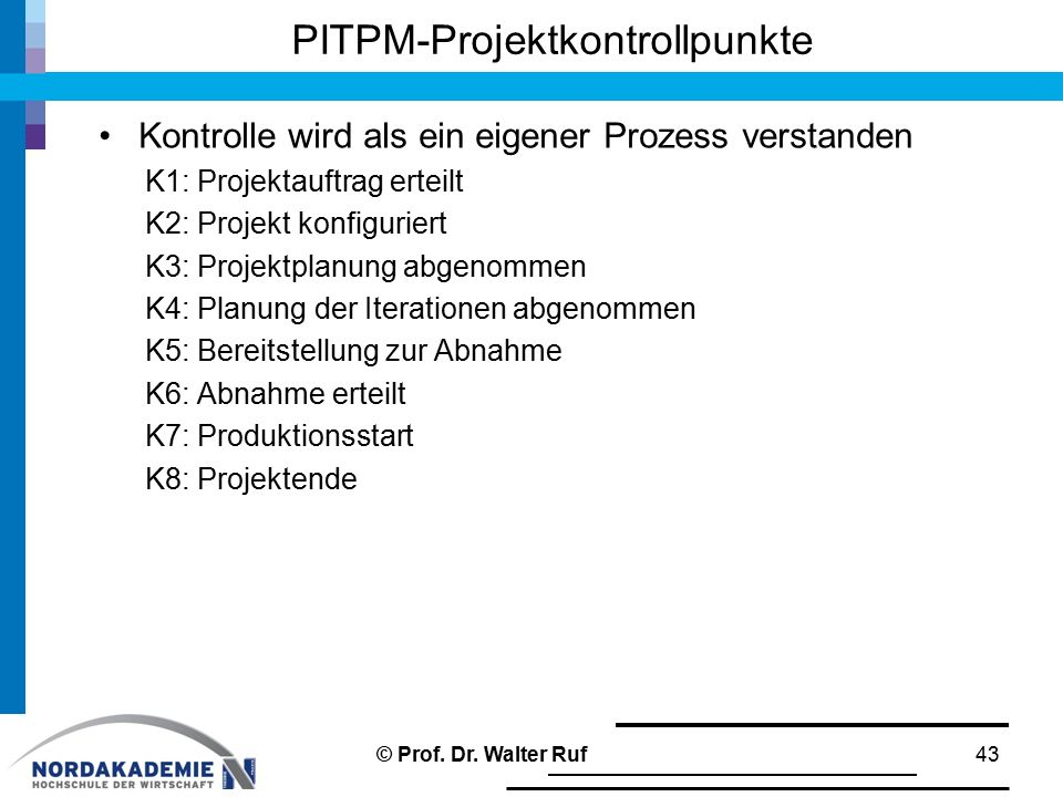 PITPM-Projektkontrollpunkte