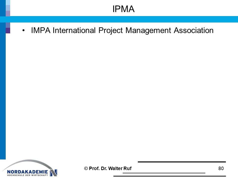 IPMA IMPA International Project Management Association