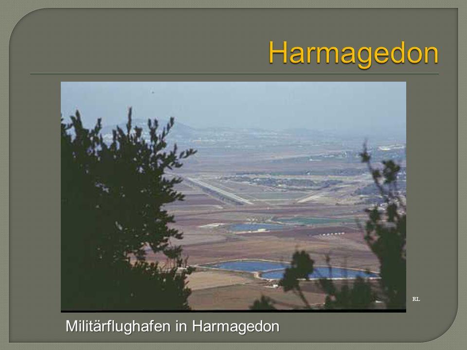 Harmagedon RL Militärflughafen in Harmagedon