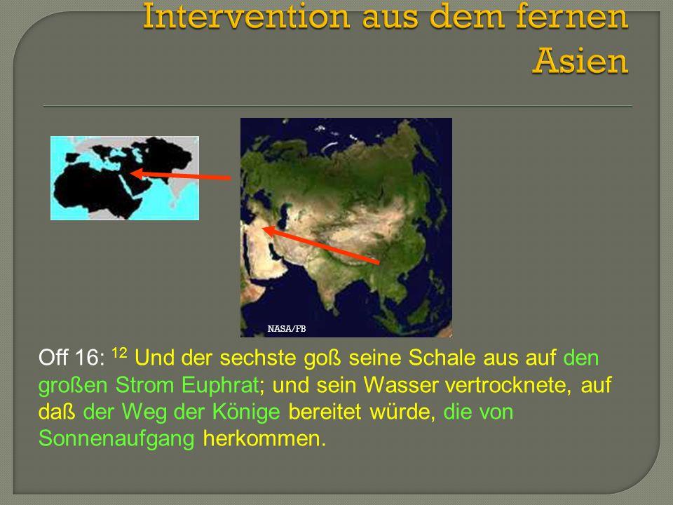 Intervention aus dem fernen Asien