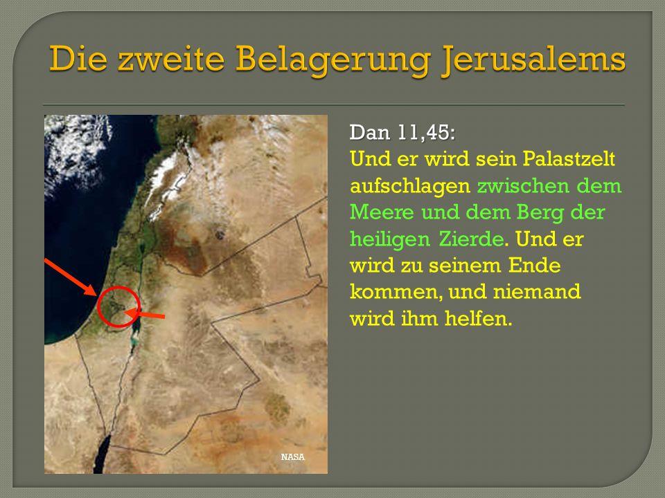 Die zweite Belagerung Jerusalems