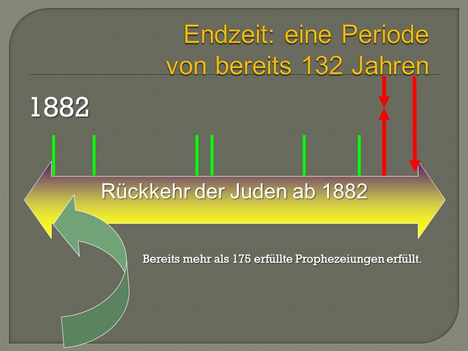 Endzeit: eine Periode von bereits 132 Jahren