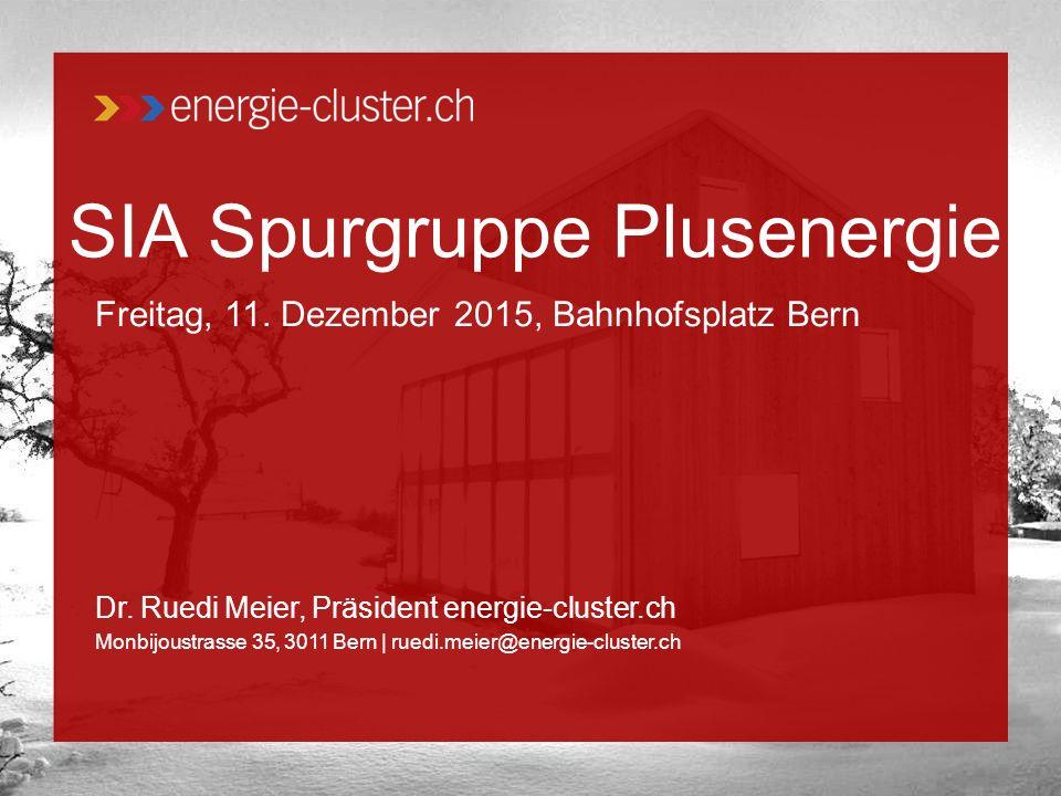 SIA Spurgruppe Plusenergie