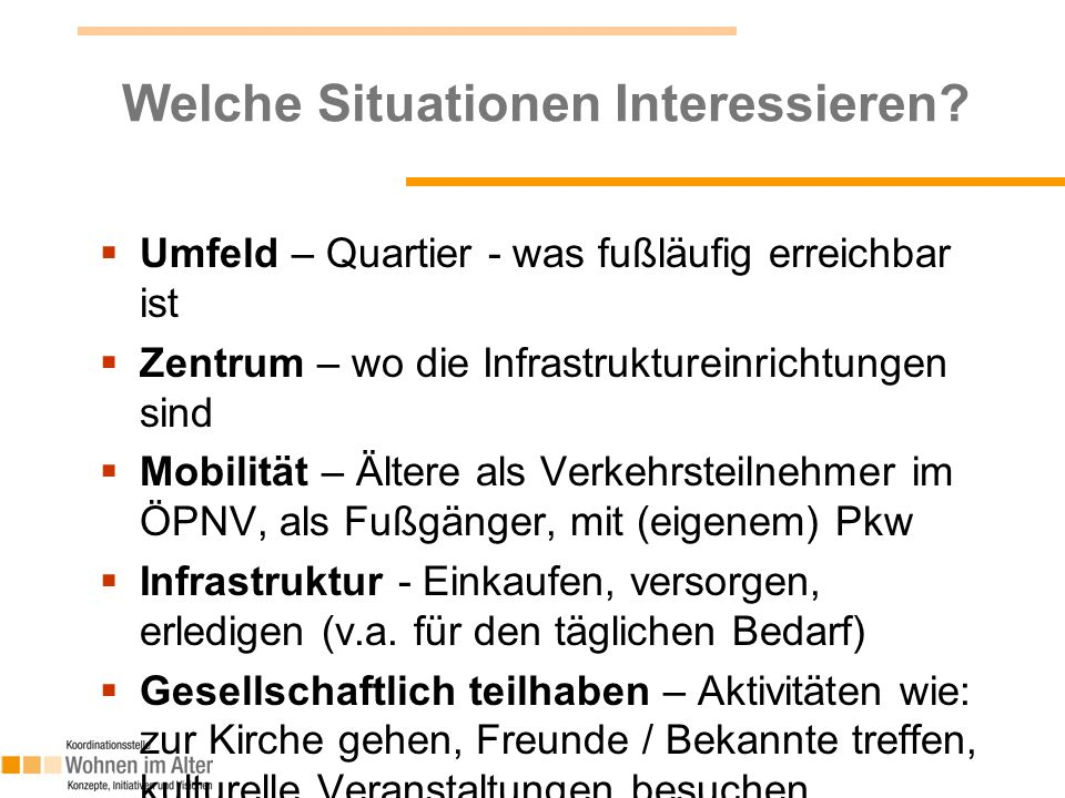 Welche Situationen Interessieren