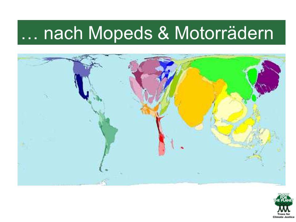 … nach Mopeds & Motorrädern