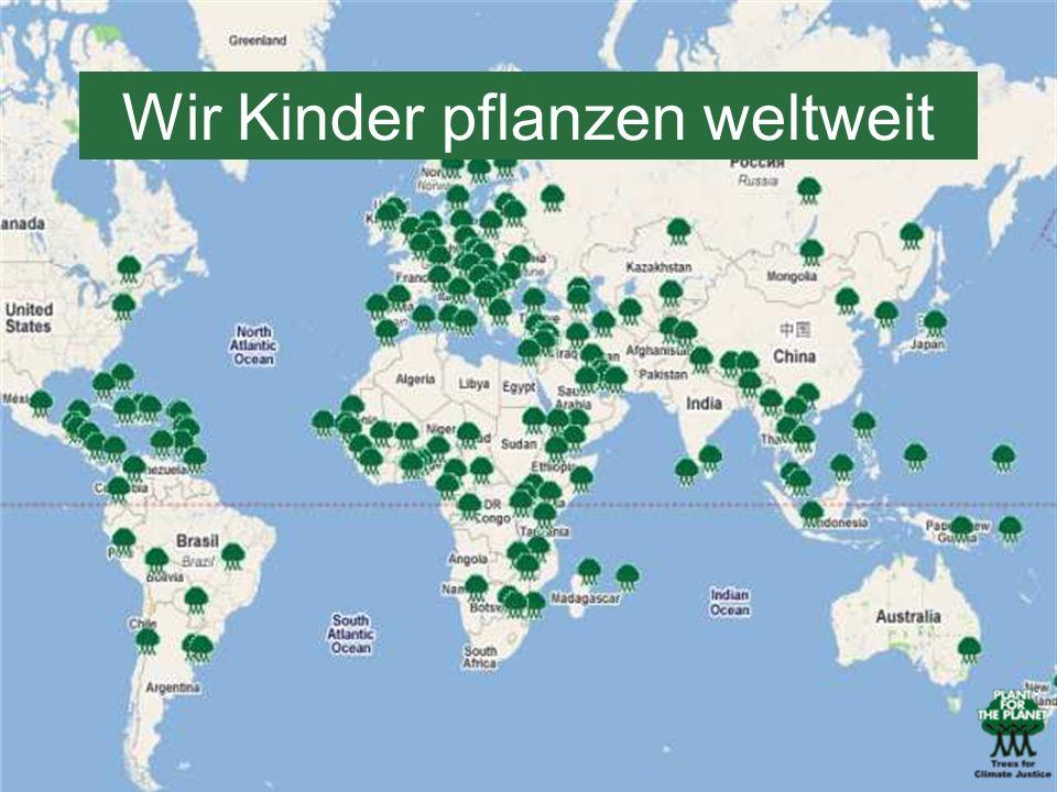 Wir Kinder pflanzen weltweit