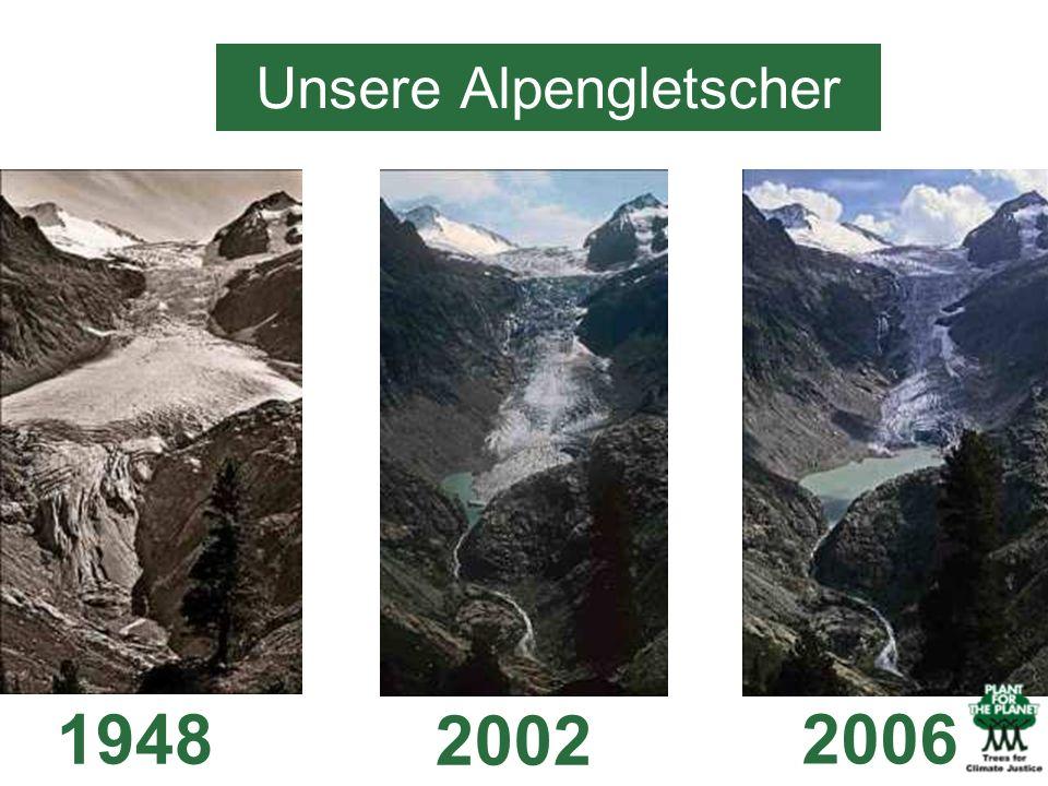 Unsere Alpengletscher