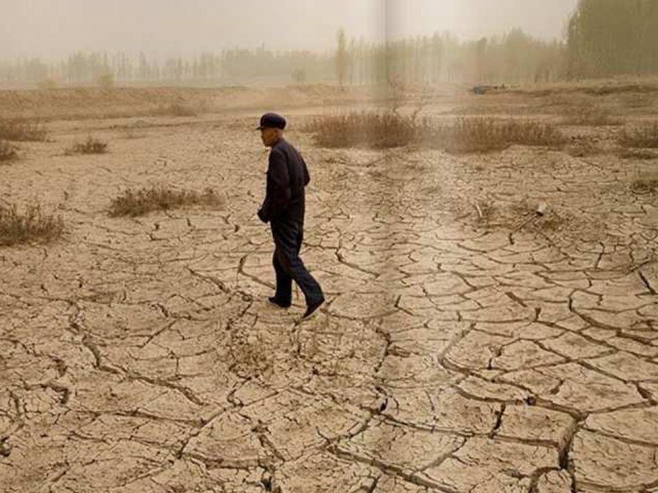 … und zur gleichen Zeit an anderer Stelle in Form von extremen Dürren, wie zum Beispiel in China…