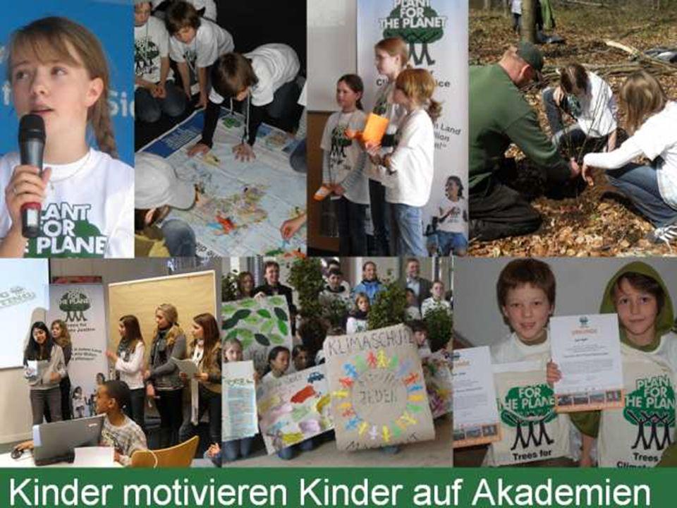 01/29/10 Es wurden schon viele Kinder zu Botschaftern für Klimagerechtigkeit ausgebildet.