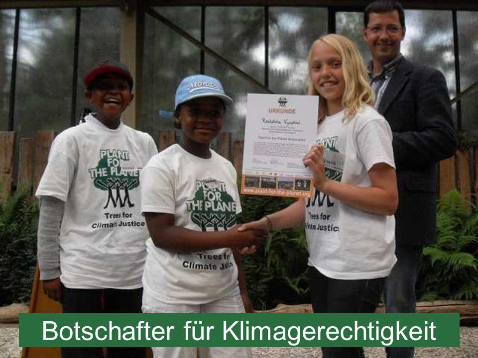 Botschafter für Klimagerechtigkeit