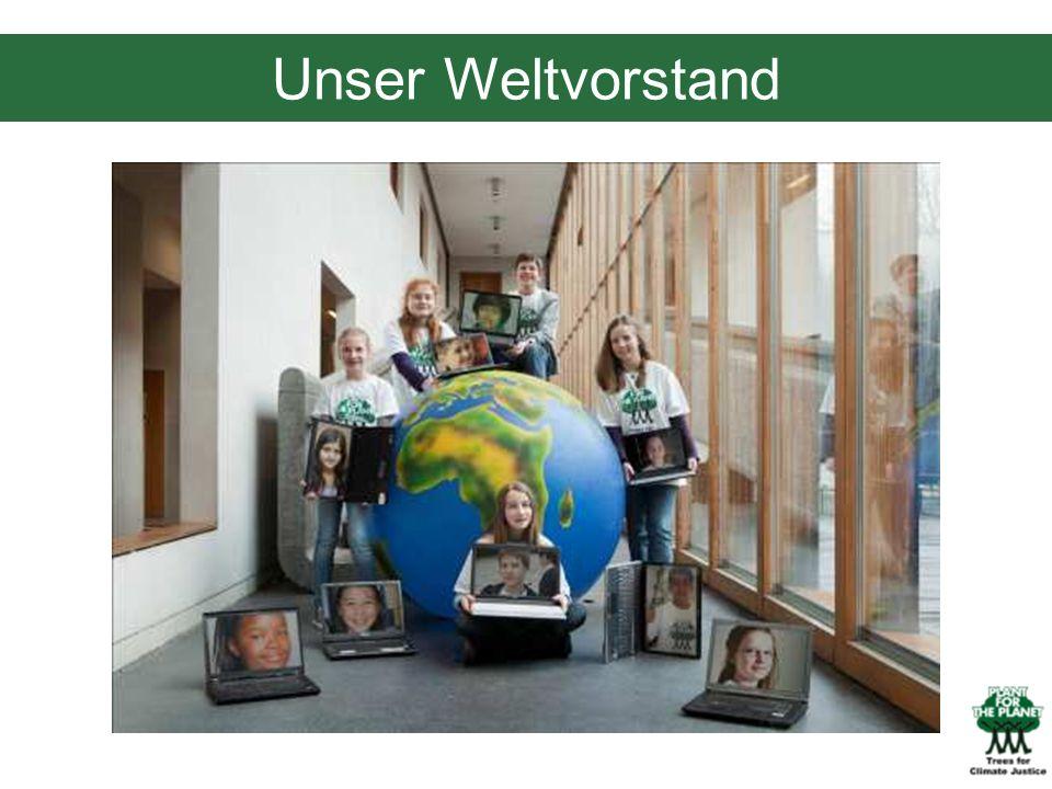 01/29/10 Unser Weltvorstand. Der Plant-for-the-Planet Verein wurde im März 2011 gegründet.