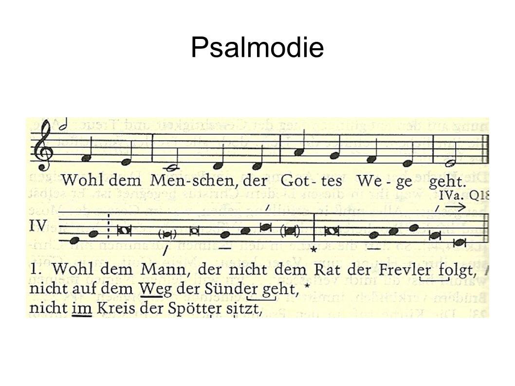 Psalmodie