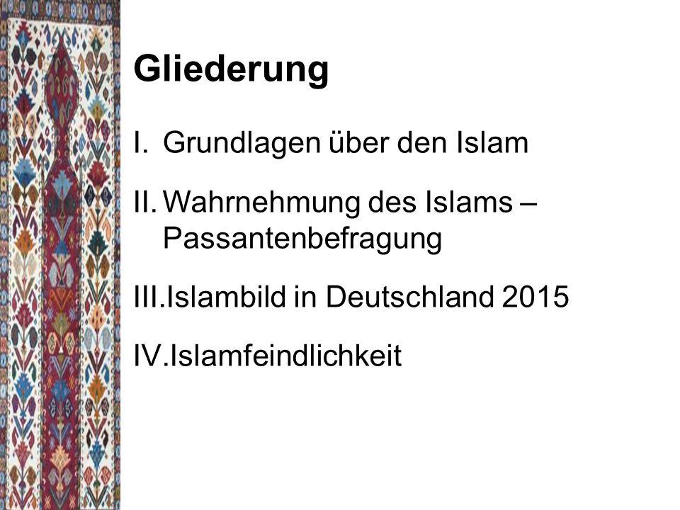 Gliederung Grundlagen über den Islam