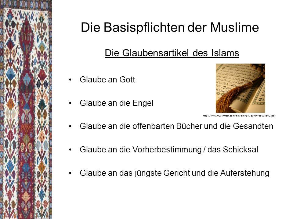 Die Basispflichten der Muslime