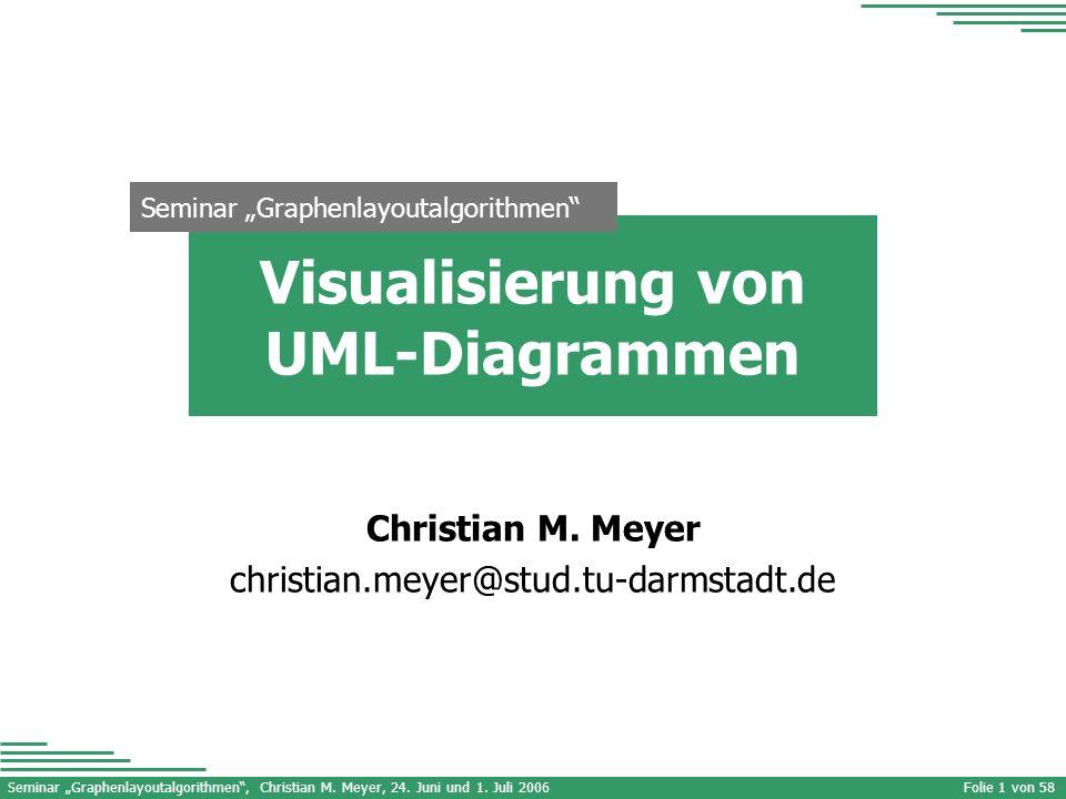 Visualisierung von UML-Diagrammen