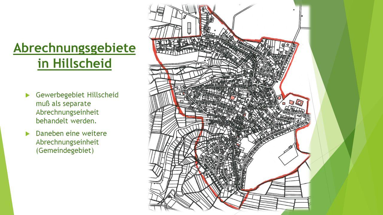 Abrechnungsgebiete in Hillscheid