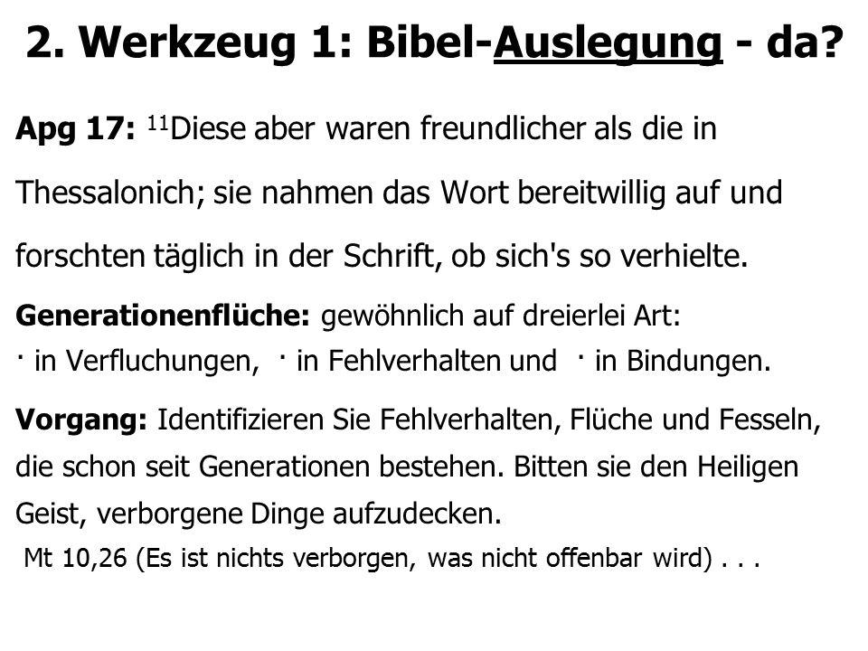 2. Werkzeug 1: Bibel-Auslegung - da