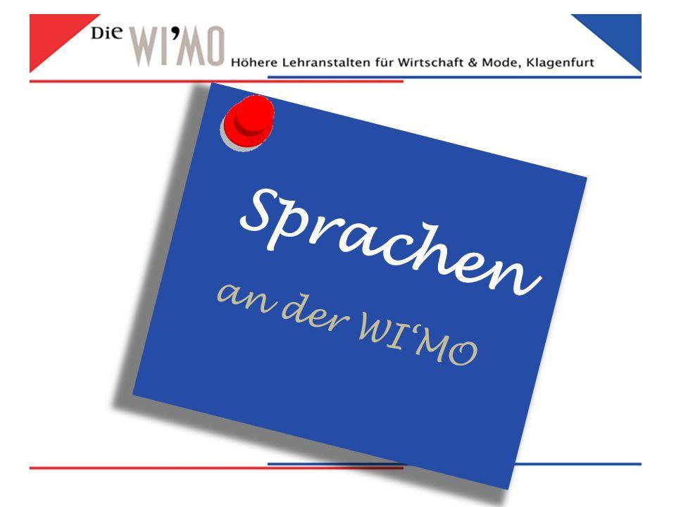 Sprachen an der WI'MO
