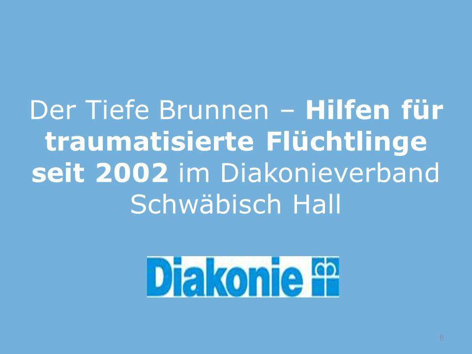 Der Tiefe Brunnen – Hilfen für traumatisierte Flüchtlinge seit 2002 im Diakonieverband Schwäbisch Hall