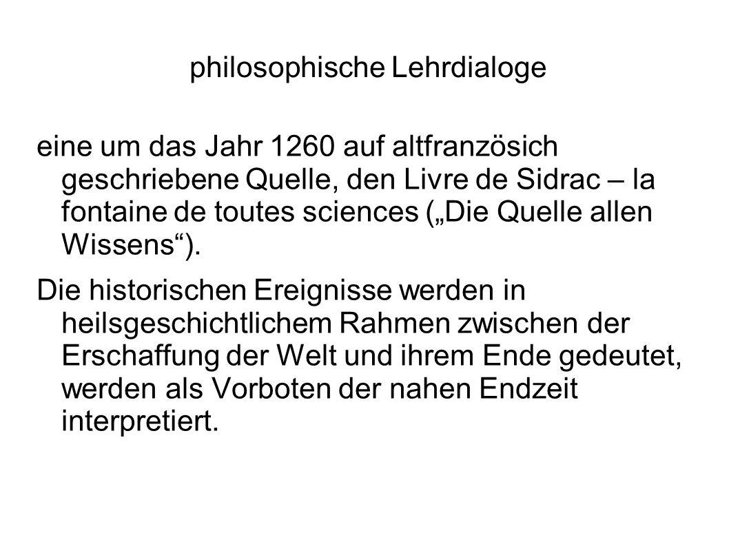 philosophische Lehrdialoge